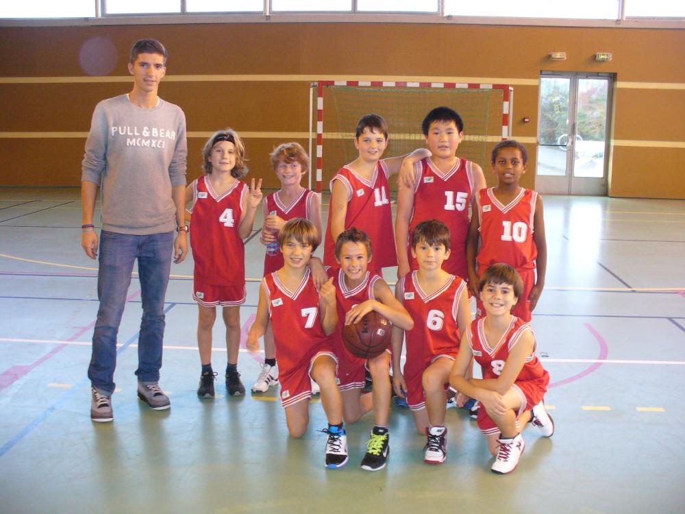 Basket Poussins 2 Acheres 2012