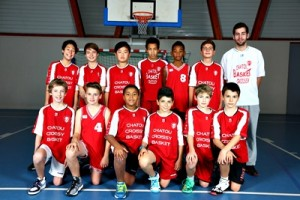TEAMS BASKET CHATOU CROISSY 2014-2015