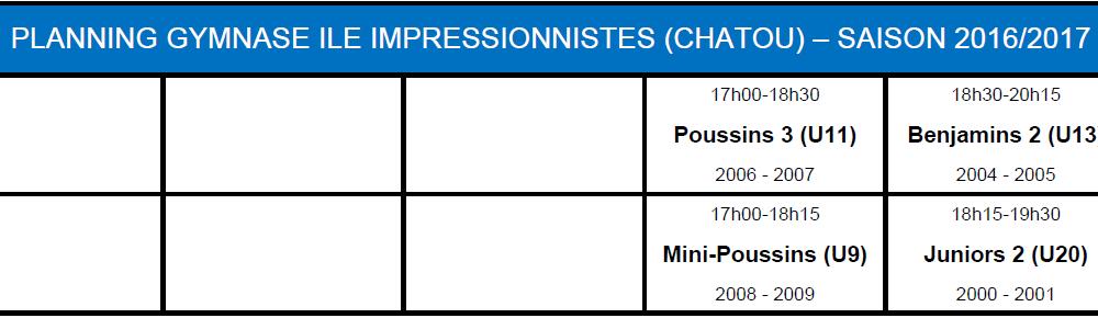 Saison 2016 2017 Ile Impressionniste