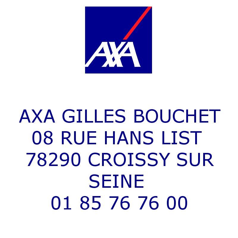 AXA Gilles BOUCHET